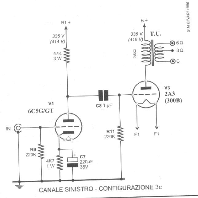 Schemi Elettrici Amplificatori Audio Con N : Triodino